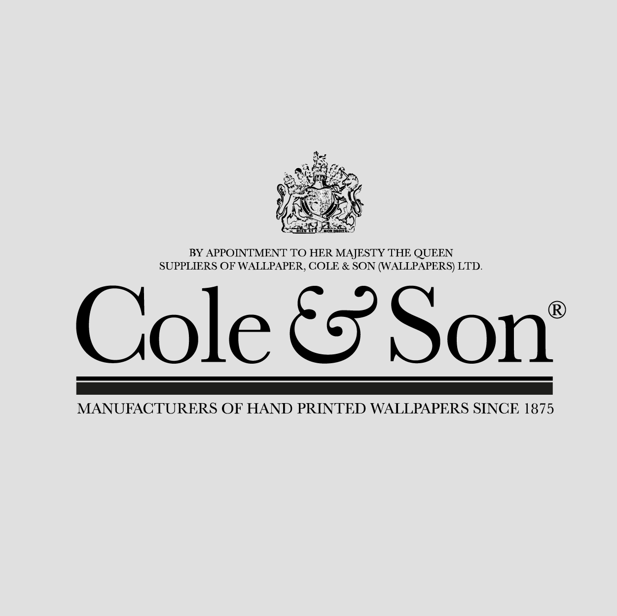 cole and son revolutionary and contemporary wallpapers. Black Bedroom Furniture Sets. Home Design Ideas