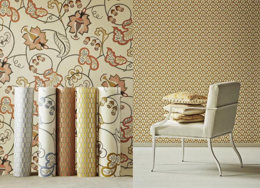Neisha Crosland vibrant bold wallpapers