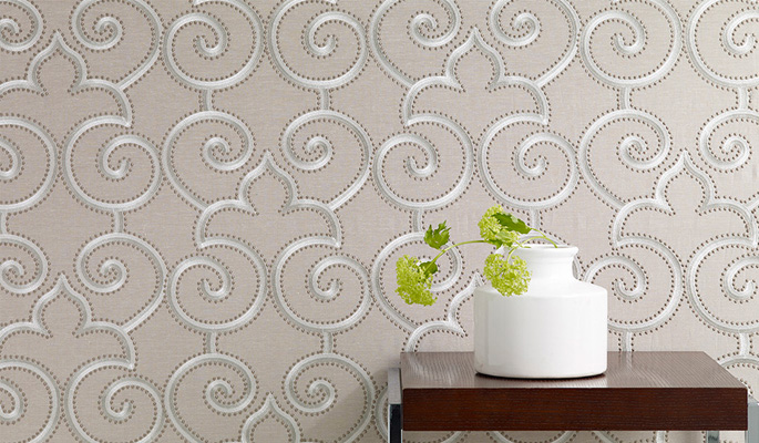James Hare silk wallcoverings