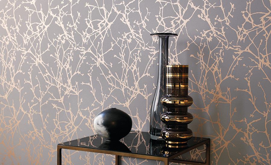 Romo Lomasi metallic Wallpaper