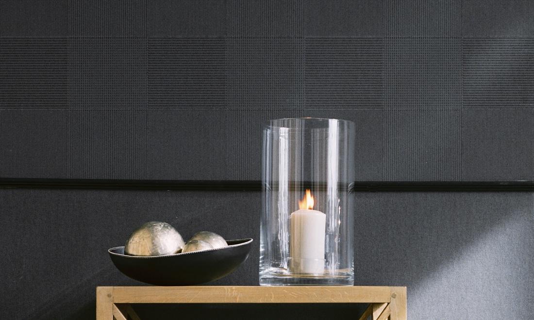 Flamant tartan black wallpaper